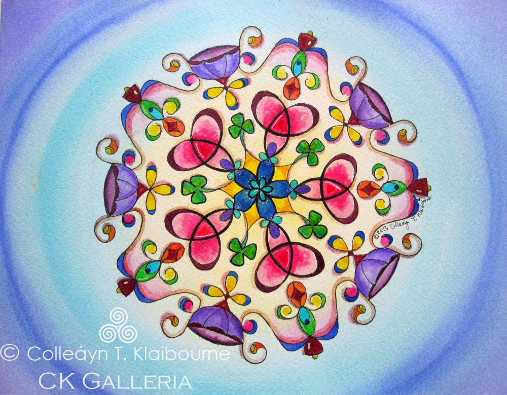 Mandala for Financial Abundance. .