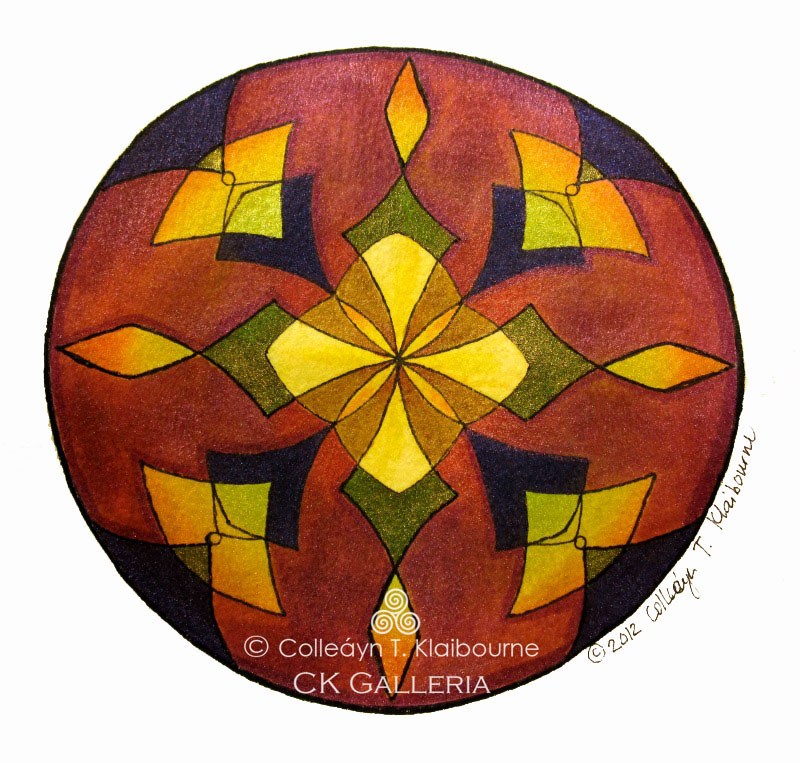 Copper Mandala pm with watermark