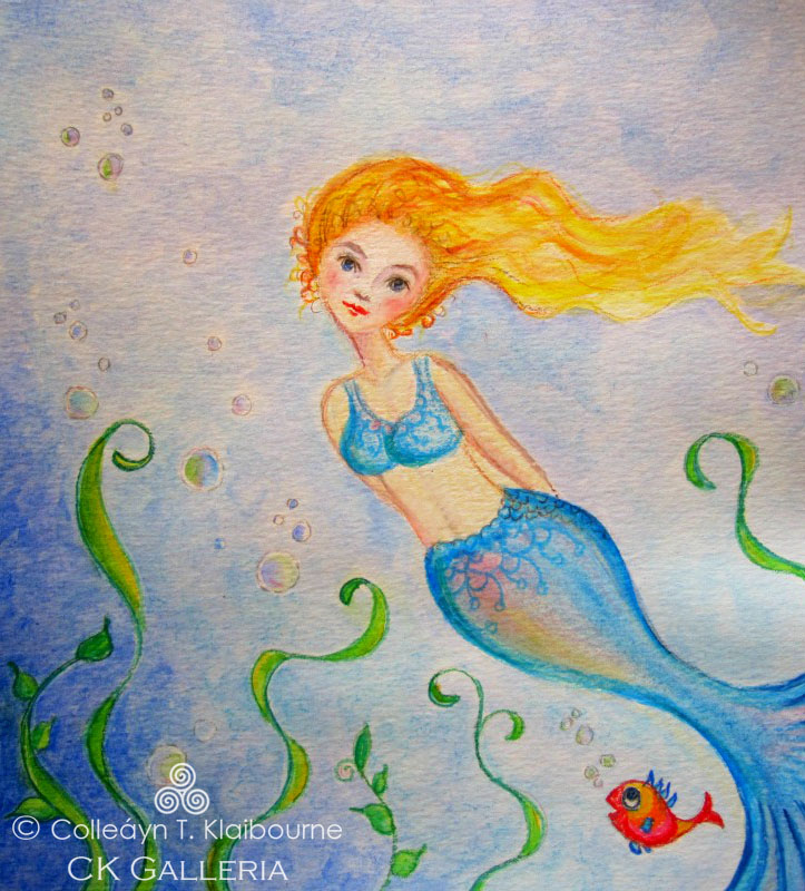 Mermaid with watermark pm