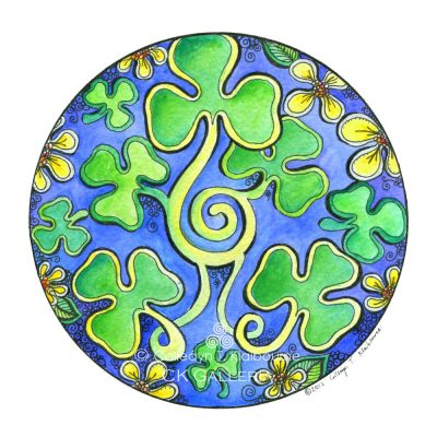 Happy St. Patrick' Day Mandala