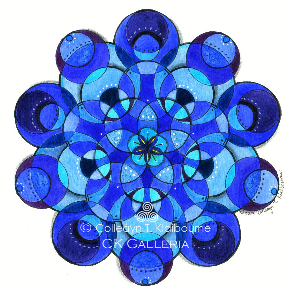 Mandala for a Good Night's sleep and increased Kidney Energy