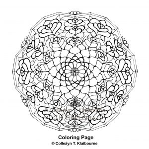 1. Stained Glass Lamp Mandala image for Website & Etsy with copyright & watermark 3.22.15