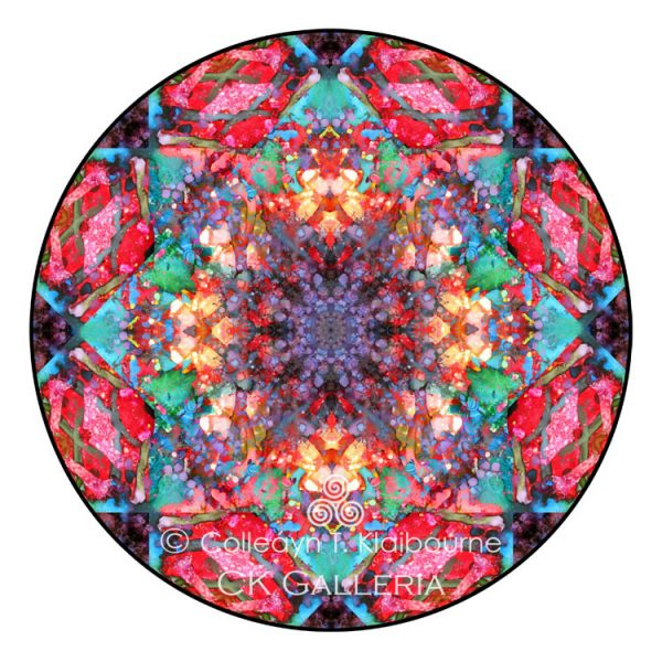 September Mandala with copyright for website