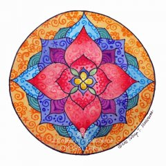 Mandala for Transformation & New Beginnings