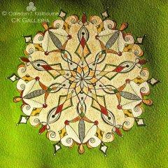 Olivine Mandala