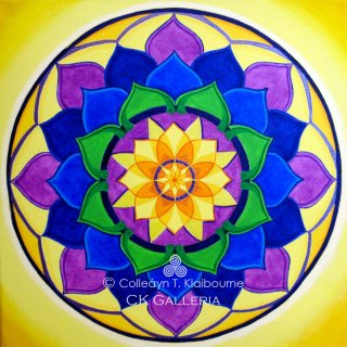 Mandala for the Eyes & Brain