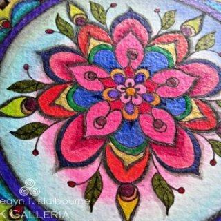 Mandala for Summer Joy